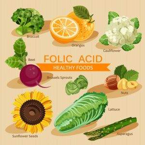 Pregnant? Make Sure To Eat Enough Folic Acid.