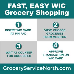 Easy WIC grocery shopping